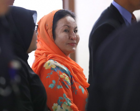Malaysia ex-PM's wife to face money laundering charges