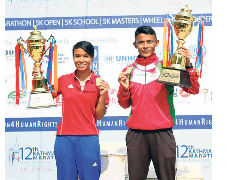 Shrestha, Koju win Kathmandu Marathon titles