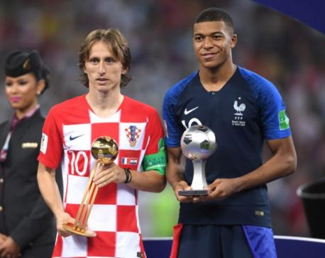 Modric, Mbappe in running for Ballon d'Or award