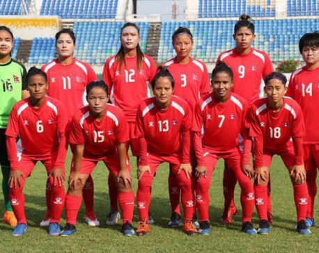 Nepal draws with Myanmar in qualifyinground of Tokyo 2020 Summer Olympics