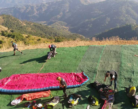Paragliding Accuracy World Cup kicks off from today