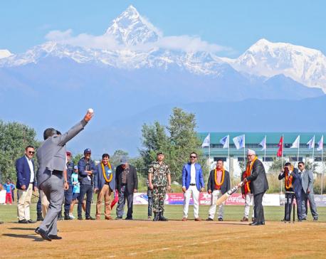 Pokhara Premier League kicks off (In Photos)
