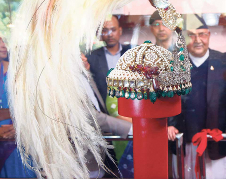 Narayanhiti Palace Museum bustles with visitors after display of crown