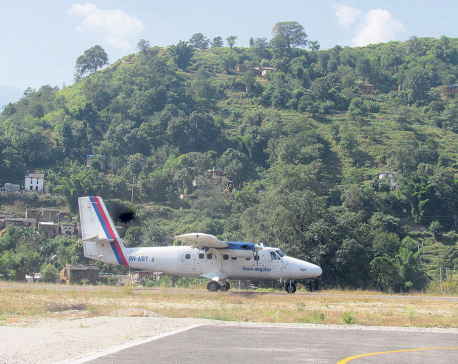 Flight to Sanfebagar resumes after 13 years