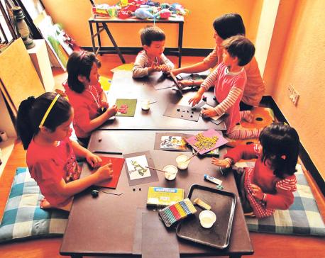 Creative classes for smarter children