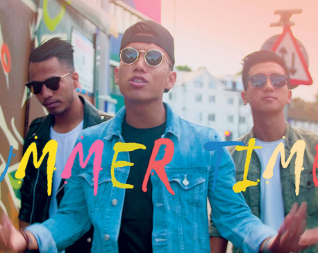Mingmar Lama portrays holiday mood in 'Summer Time'