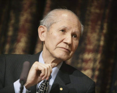 Japanese Nobel chemistry laureate Shimomura dies at 90
