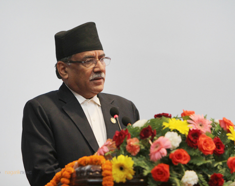'Surprise' date for unification: Dahal