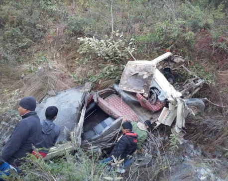 Palpa road accident: Identities of killed ascertained