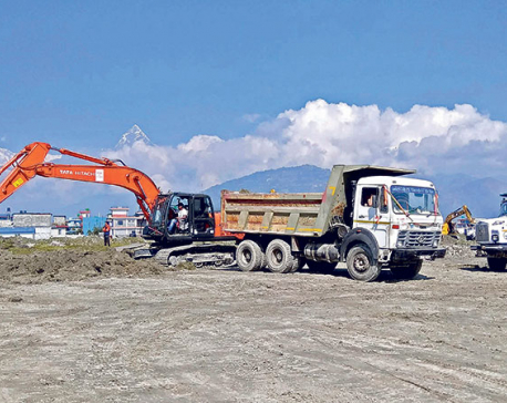7% work at Pokhara international airport completed in 3 months