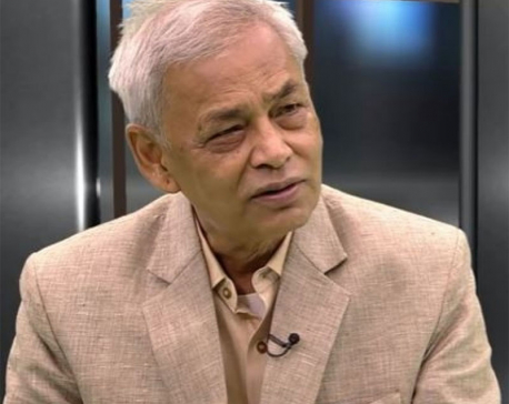 PM Oli's railway rhetoric is nothing but a debt trap: Giri