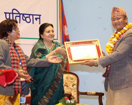Honor freedom fighters: President Bhandari
