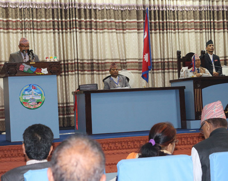 Province-5 presents Rs 28 billion budget