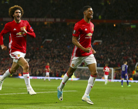 Rashford steers Man United into Europa League semifinals