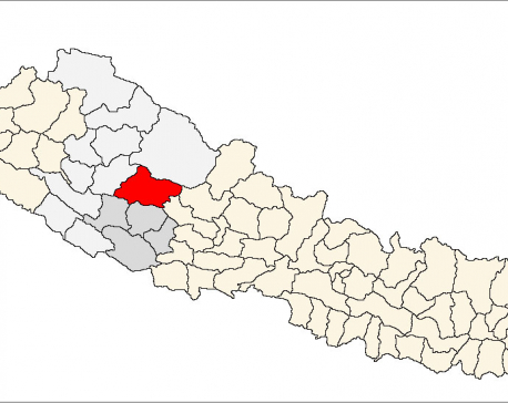 Five injured in Rukum bus accident