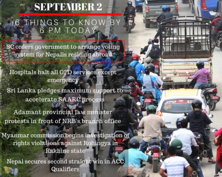 Sept 2: 6 things to know by 6 PM