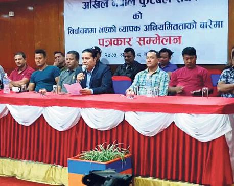 Kunwar accuses ANFA president Sherpa of manipulating elections