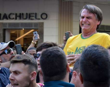 Brazil presidential candidate Bolsonaro gains little after stabbing - poll