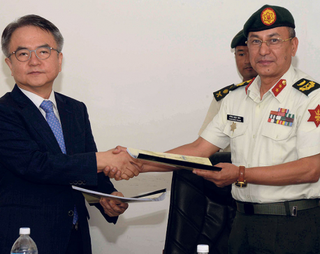 Army signs agreement with Korean firm for Expressway DPR