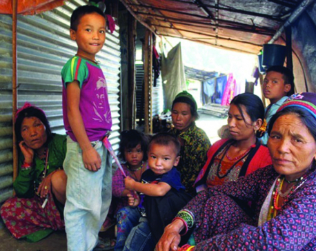Quake victims' fourth monsoon under tent