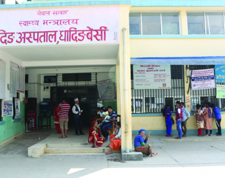 Dearth of doctors, staffs affect crucial services at Dhading hospital