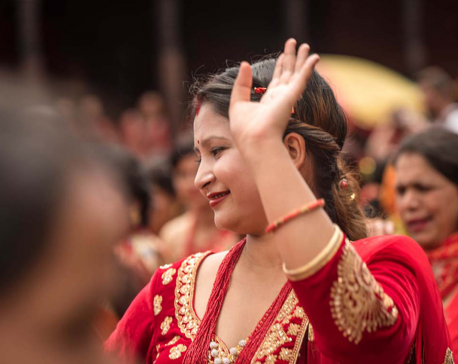 In pictures: Teej celebration at Pashupati