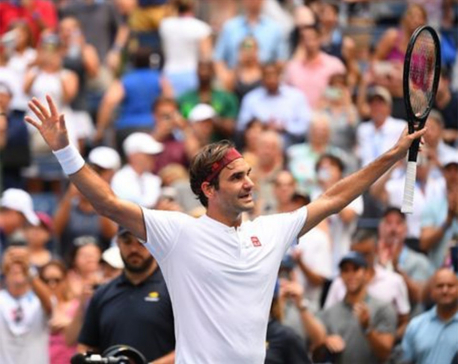 Federer braced for Kyrgios test on sixth day of U.S. Open