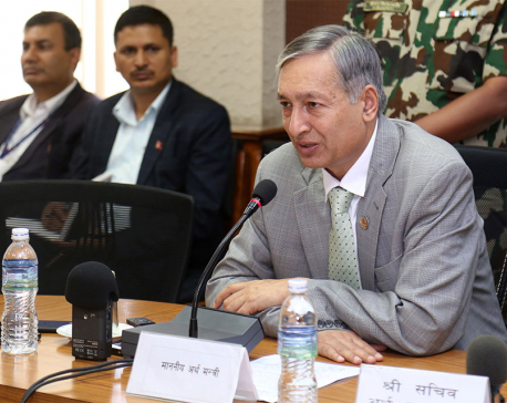 Rs 120 b revenue collected in first two months: FinMin Khatiwada