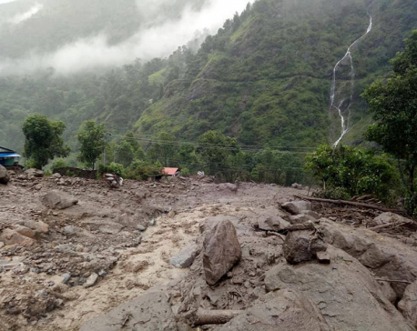Death toll in Lamjung landslide reaches four