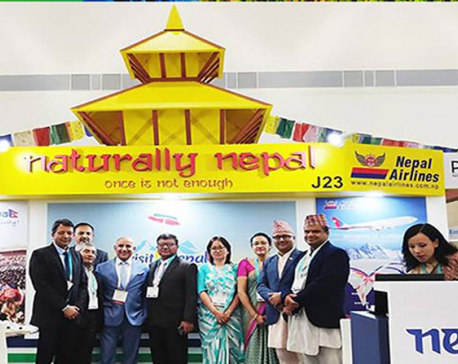 Participants take interest in Nepal's natural beauty in PATA Travel Mart-2018
