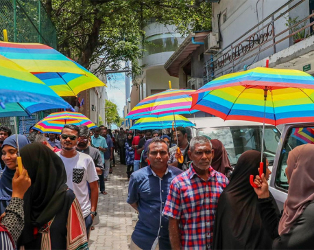 Maldives opposition declares victory over autocratic ruler in presidential election