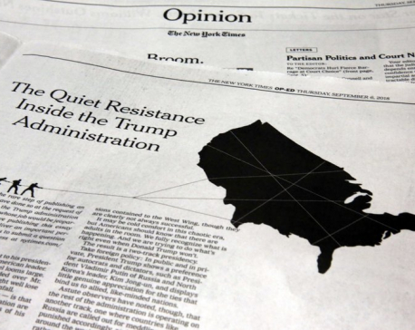 NY Times' decision to publish anonymous column carries risks