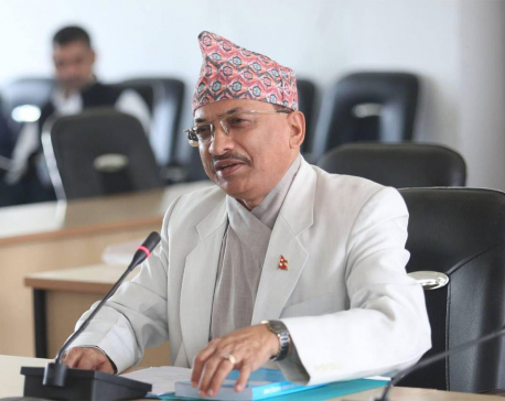 CIAA Chief Commissioner Ghimire tested positive for the COVID-19