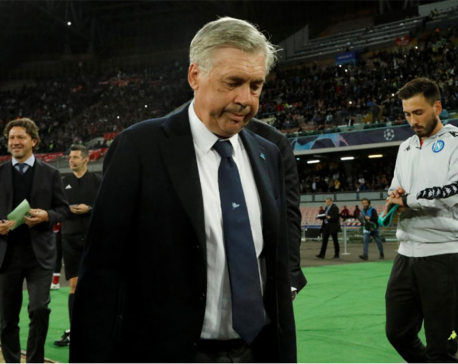 Ancelotti happy Napoli left it late against Liverpool