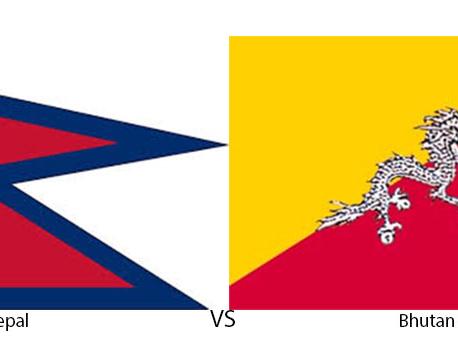 Nepal thrashes Bhutan by 4-0 goals