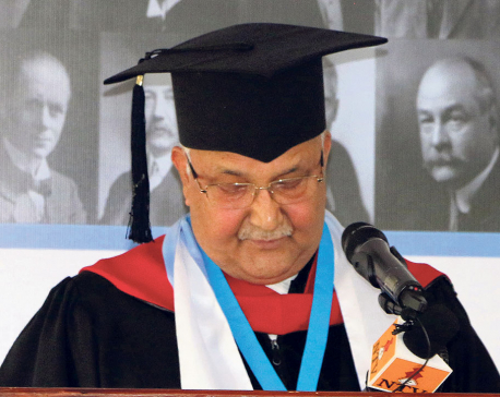 Oli honored with doctorate degree in Costa Rica