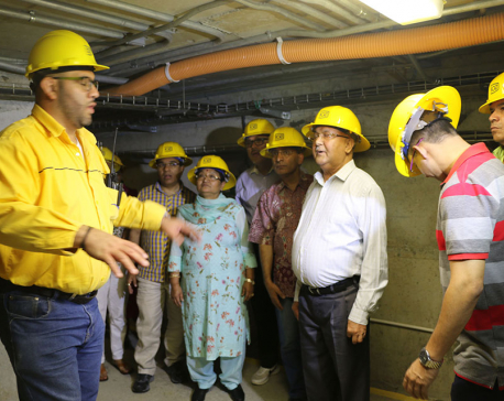 PM Oli observes Pirris Hydropower Plant in Costa Rica