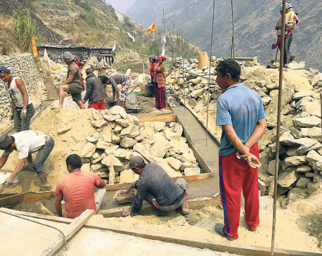 Over 800 quake victims yet to initiate reconstruction in Rasuwa