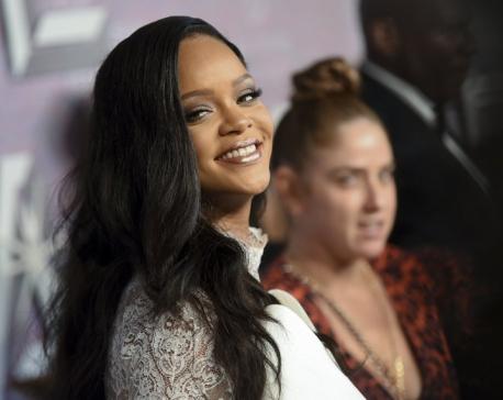 Celebs turn out to help Rihanna's Diamond Ball shine bright