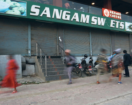 Sangam Sweets sealed for selling substandard fare