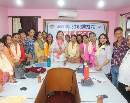 Women entrepreneurs association formed in Makwanpur