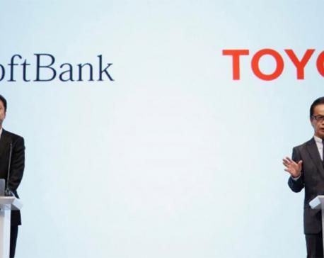 Toyota, SoftBank to partner in future car technologies