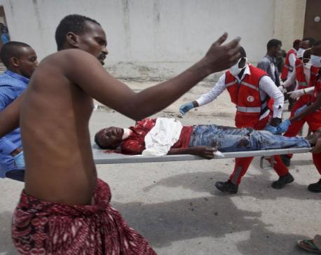 6 dead in blast at district headquarters in Somali capital