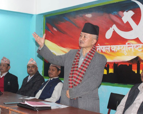 'Draft of Civil Code was prepared by Deuba-led govt'