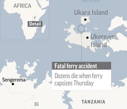 UPDATE: Tanzania death toll 209 as survivor found in capsized ferry