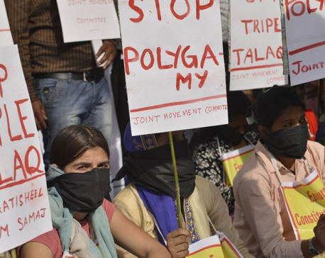 India prescribes punishments in bid to stamp out 'triple talaq'