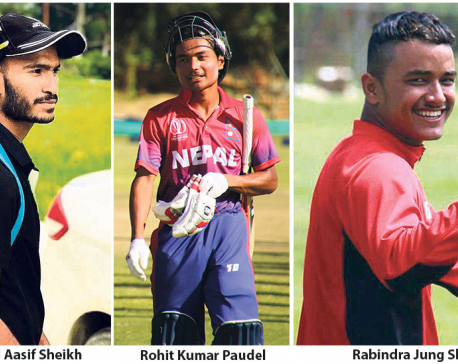 Paudel, Shahi  called up; Aasif to lead in U-19 Asia Cup