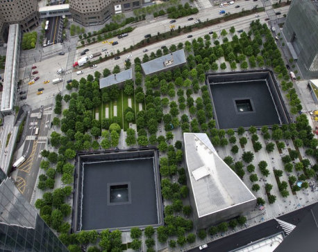 US marks 9/11 with somber tributes, new monument to victims