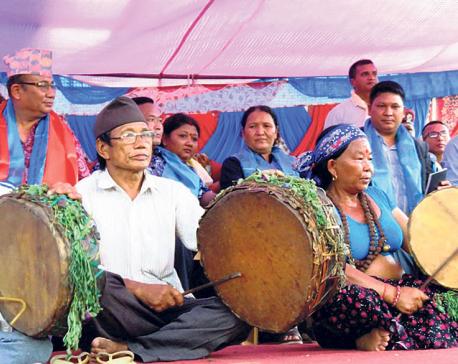 Chepangs celebrate Nwagi