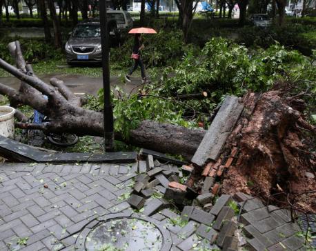 Hong Kong, southern China clean up after super typhoon